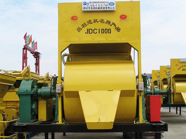 JDC1000 concrete mixer