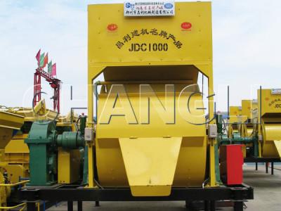 JDC1000 single concrete mixer
