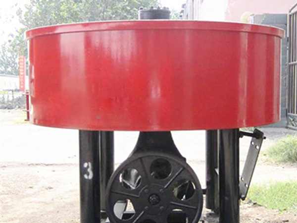 JN1500 concrete pan mixer