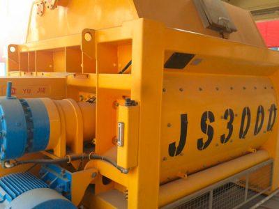JS3000 concrete mixer