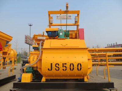JS500 concrete mixer