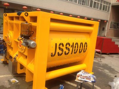 JSS1000 concrete mixer