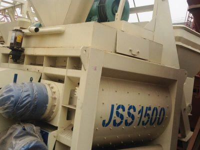 JSS1500 concrete mixer