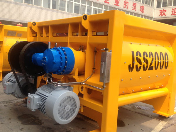 JSS2000 concrete mixer