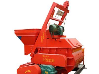 JSS500 concrete mixer