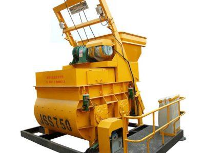 JSS750 concrete mixer