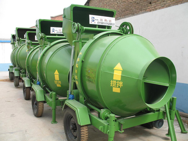 JZC350 drum concrete mixer