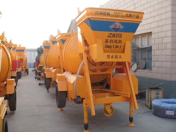JZM350 concrete mixer