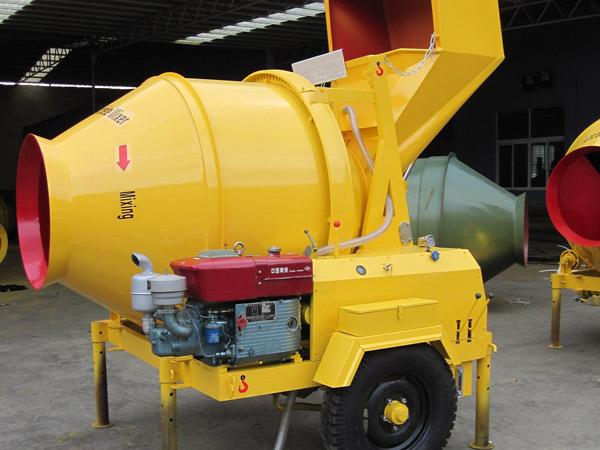 JZR350A diesel concrete mixer