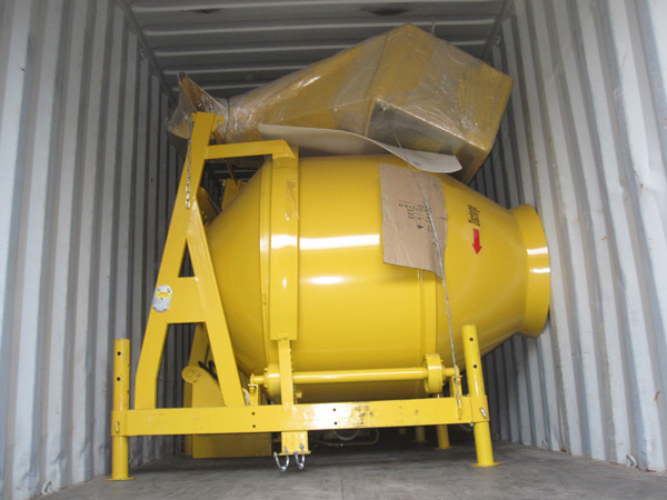 Mixer in Container