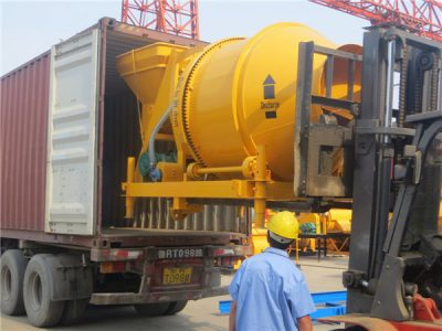 concret mixer for exporting