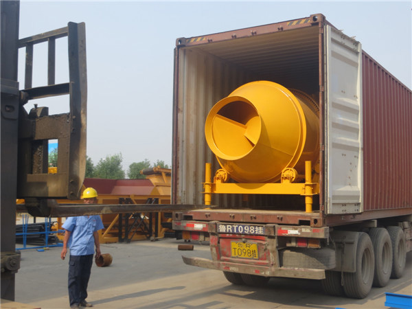 concrete drum mixer for exporting