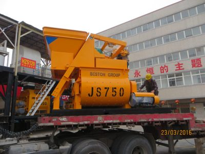 concrete mixer exported to Russia