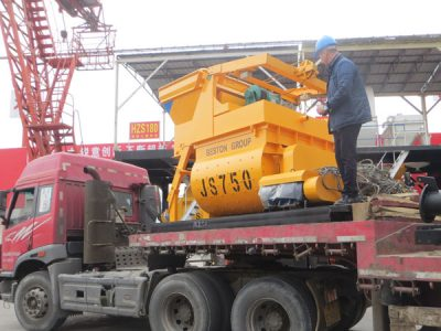 concrete mixer for exporting