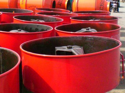 JN2000 concrete pan mixer