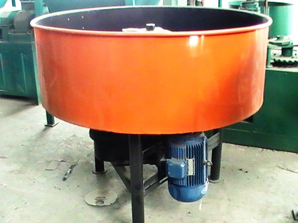 JN500 concrete pan mixer