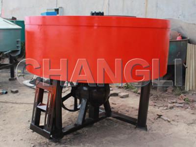 concrete pan mixers