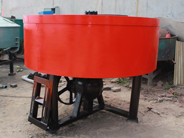 JN350 concrete pan mixer