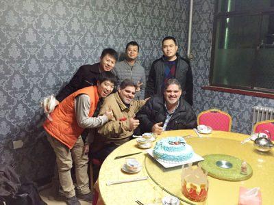 customer visit us