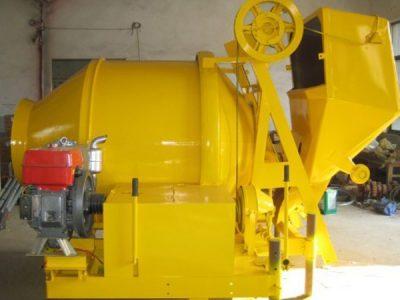 diesel concrete mixer