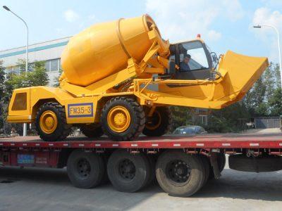 self-loading concrete mixer for sale