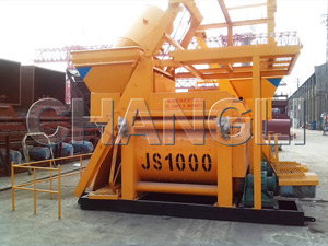stationary-concrete-mixer
