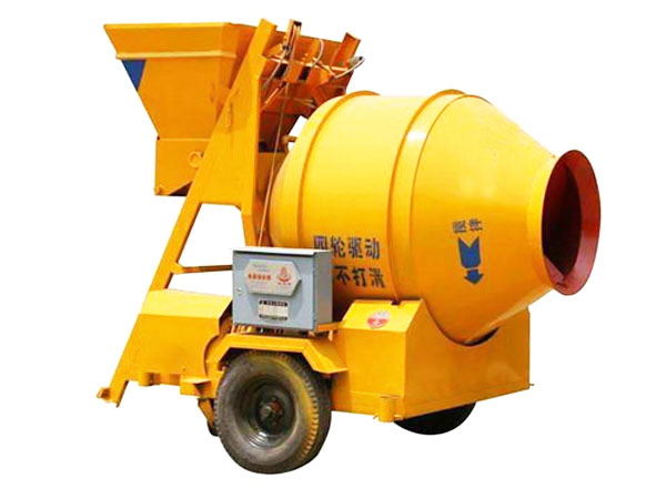 small concrete mixer