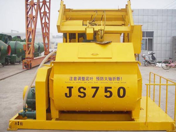 twin shaft concrete mixers for sale