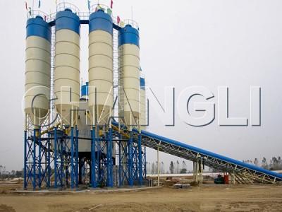 Best HZS240 Stationary Concrete Batching Plant