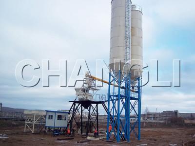 Best HZS25 Stationary Concrete Batching Plant