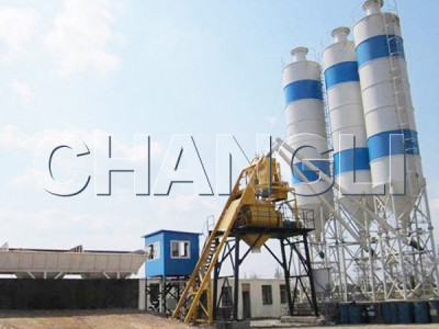 Best HZS35 Stationary Concrete Batching Plant