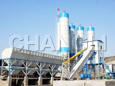 Best Stationary Concrete Batching Plant