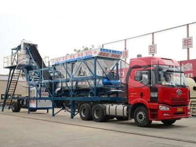 Best YHZS35 Mobile Concrete Batching Plant