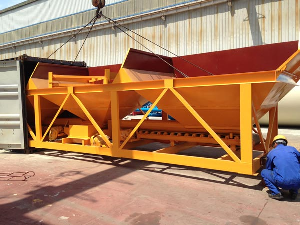 Concrete Batching Machine Exported to Australia