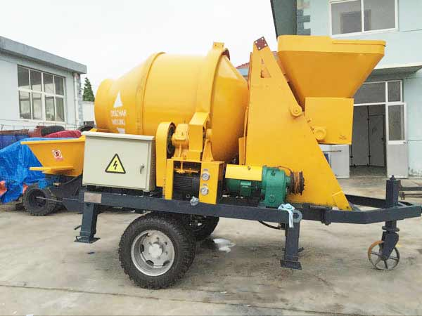JBS30-JZC350-Electric-Concrete-Mixer-Pump