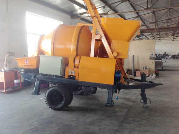 JBS40-JZC350-Electric-Concrete-Mixer-Pump