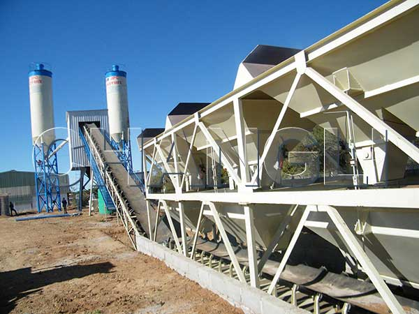 Mini Concrete Batch Plant Cube : The safety precautions of concrete batching plant aimix
