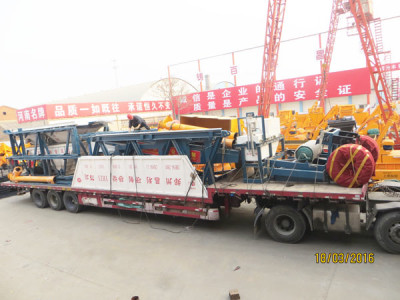 best mobile concrete batching plant for exporting