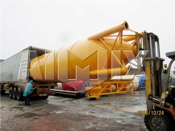 cement-silo exported to Uzbekistan