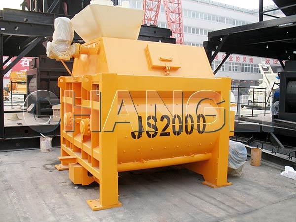 js2000 large cement mixer for sale