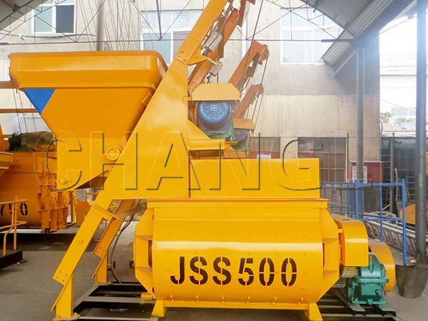 JSS concrete mixer