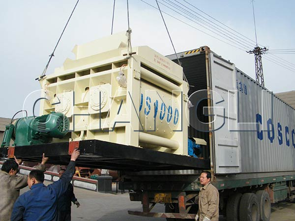 large cement mixer for delivery