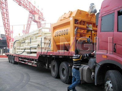 large cement mixer for exporting
