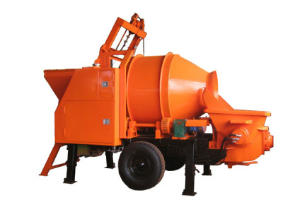 top concrete mixer pump