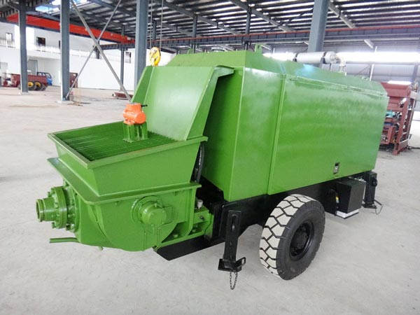 HBT-20 Trailer Concrete Pump