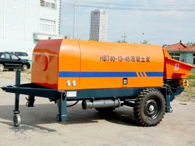HBT-40 Trailer Concrete Pump