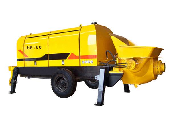 HBT-60 Trailer Concrete Pump