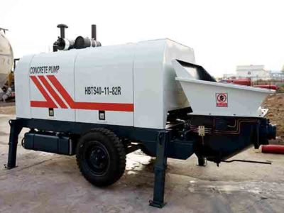 HBTS40 Trailer Concrete Pump