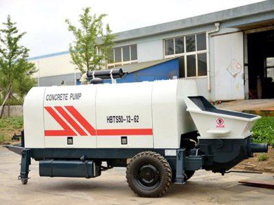 HBTS50 Trailer Concrete Pump