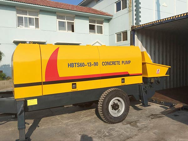 Superior Quality Trailer Concrete Pump For Sale Aimix Group